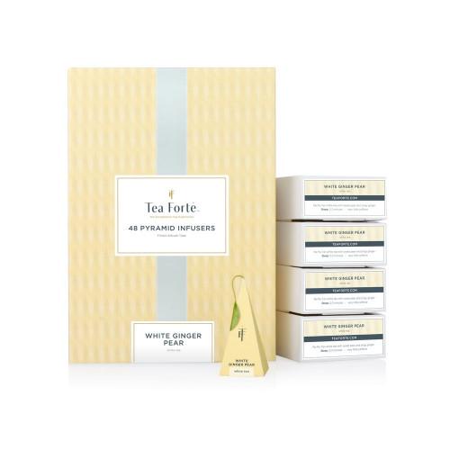 White Ginger Pear - Pyramídový čaj 48ks