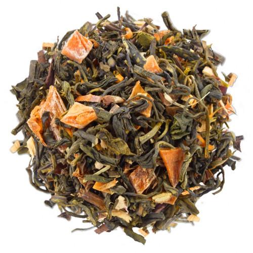 Green Mango Peach - Pyramídový čaj 48ks